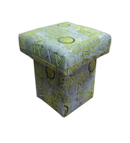 taburet malý,látka Matrix 6645/82